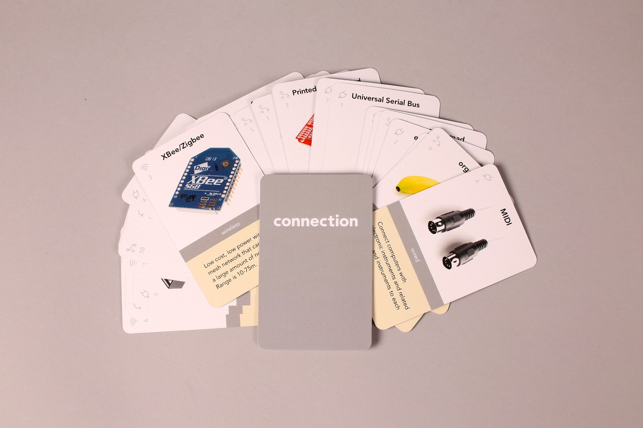 Connection cards (26 cards)