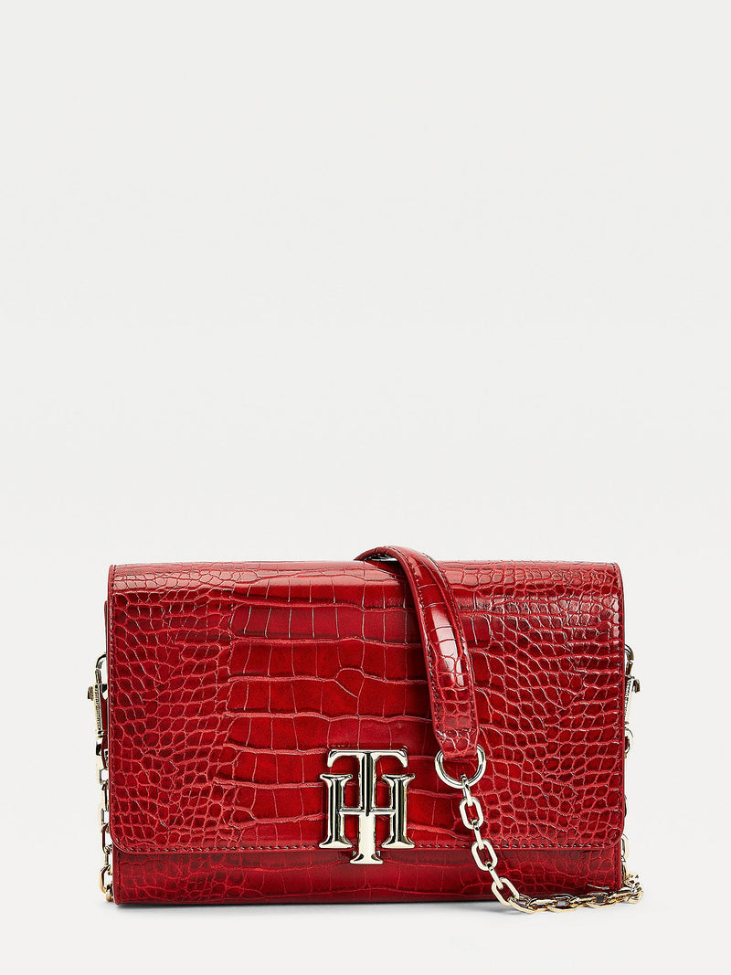 Tommy Hilfiger - Sac à bandoulière  rouge - AW0AW08865