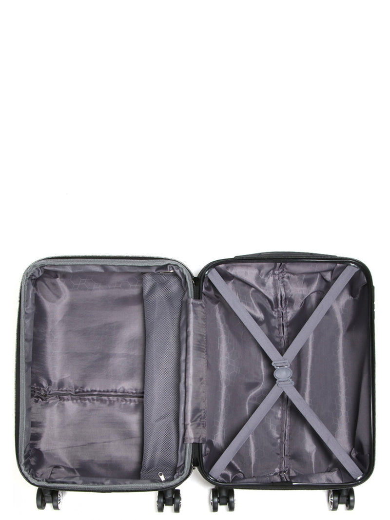 Madisson - Valise cabine rigide en ABS - noir - 87104/LOW