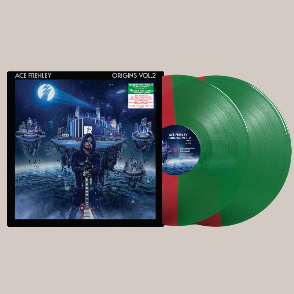 Ace Frehley - Origins Vol.2 Xmas Edition LP - Translucent Red and Translucent Green