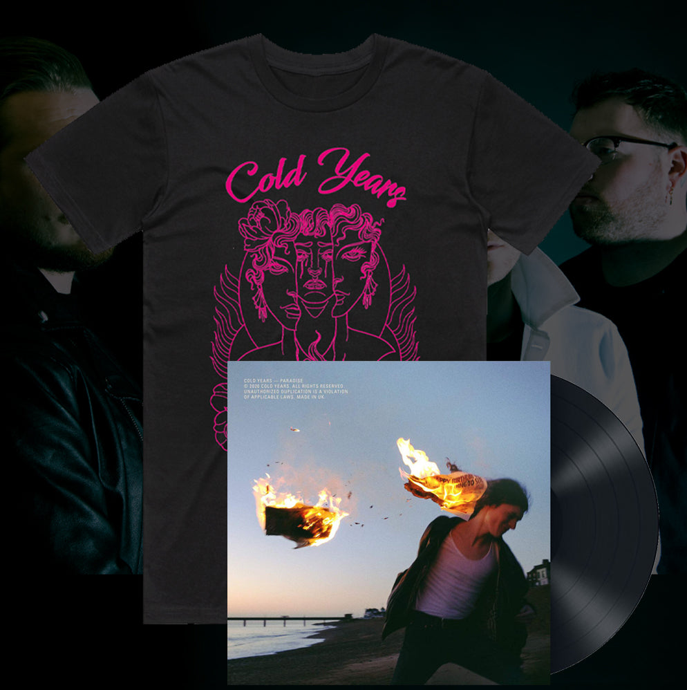 Good As Hell T-Shirt (Black) & Paradise Vinyl Bundle