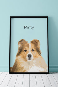 Mint - Unique Poster about your pet