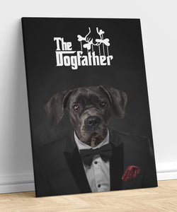 Dog Father - A unique painting about your pet