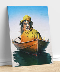 Fisherman - A unique painting about your pet