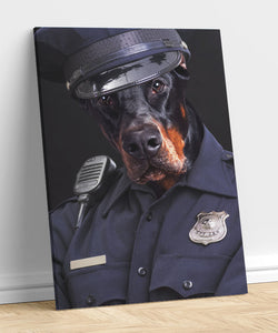 Police - A unique painting about your pet