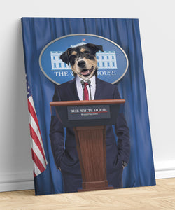 President - A unique painting about your pet