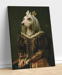 Queen - A unique painting about your pet