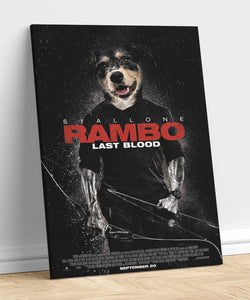 Rambo - A unique painting about your pet