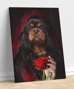 Little Red Riding Hood - A unique painting about your pet