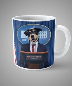 President - Unique Mug for your pet