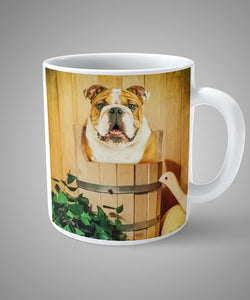 Sauna - Unique Mug for your pet