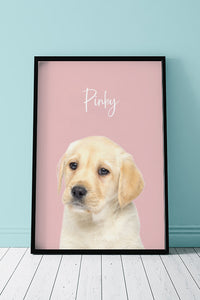 Pinky - Unique Poster about your pet