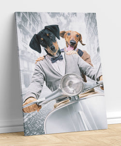 Knights - A unique painting about your pet