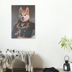 Admiral - A unique painting about your pet
