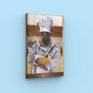 Chef - A unique painting about your pet