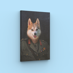 Soldier - A unique painting about your pet