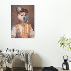 Dame - A unique painting about your pet