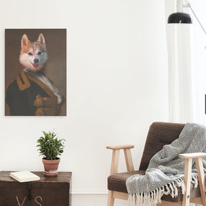 Miss Von Hammersmark - A unique painting about your pet
