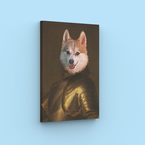 Knight - A unique painting about your pet