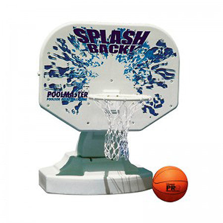 Splashback Poolside Basketball Game 72820