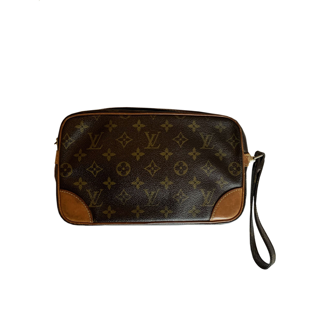 Louis Vuitton Monogram Pochette Marly Dragonne
