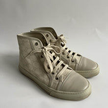 Load image into Gallery viewer, Gucci Canvas High Top Sneakers