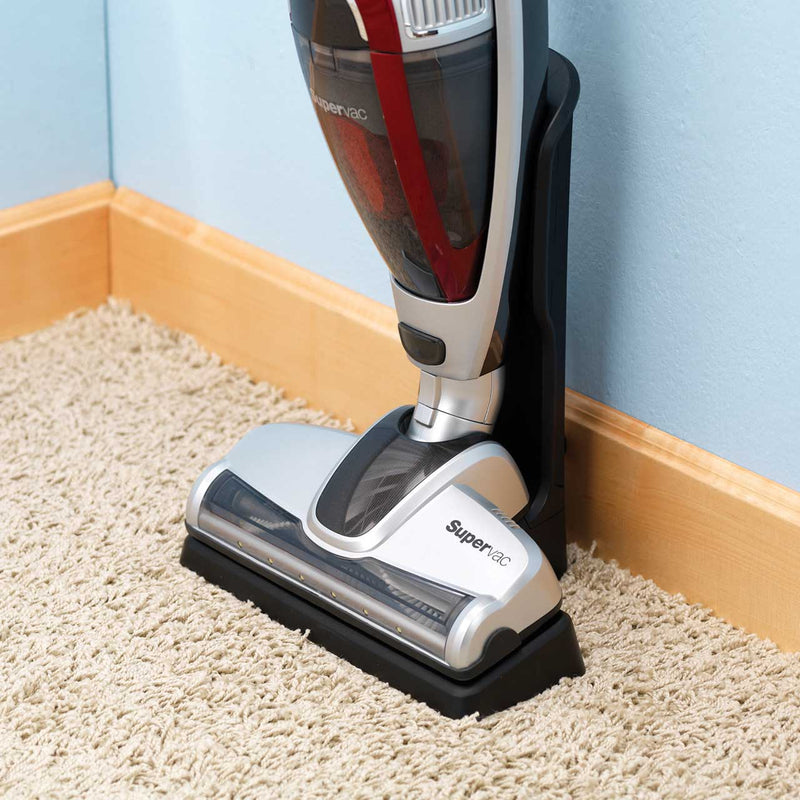 Morphy Richards Supervac 2-in-1 732007 Cordless Vacuum Cleaner with up to 40 Minutes Run Time