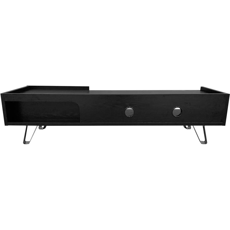 Alphason ADBE1500ELM 0 Shelf TV Stand - Brown