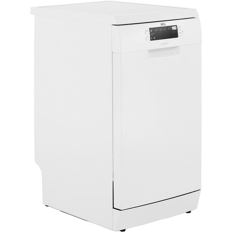 AEG FFB62400PW Slimline Dishwasher - White - A++ Rated