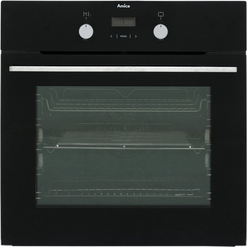Amica ASC420BL Built In Electric Single Oven - Black - A Rated