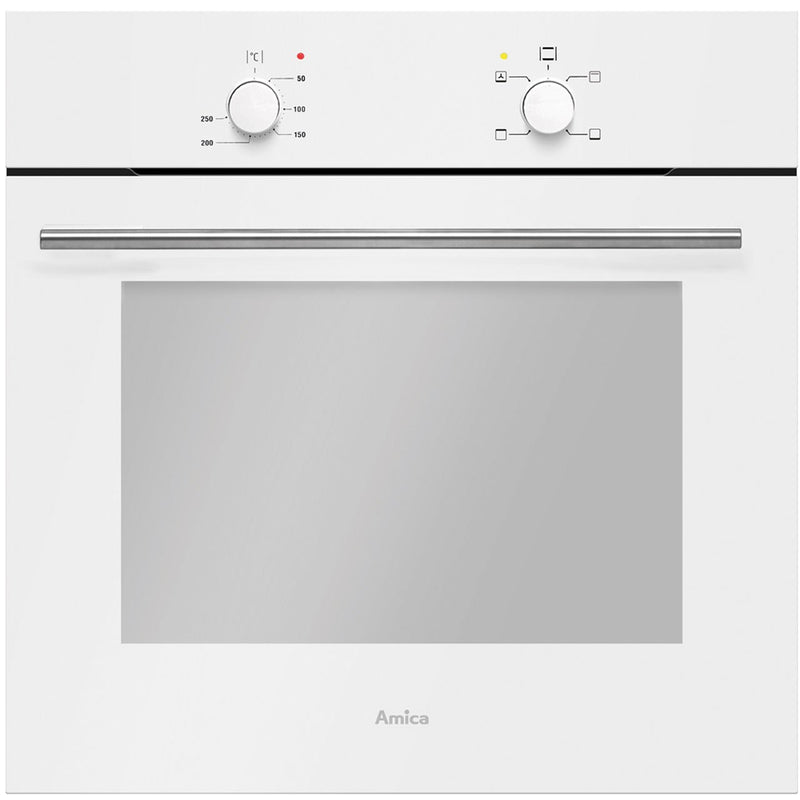 Amica ASC420WH Built In Electric Single Oven - White - A Rated