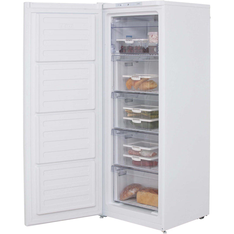Beko FFG1545S Frost Free Upright Freezer - Silver - A+ Rated