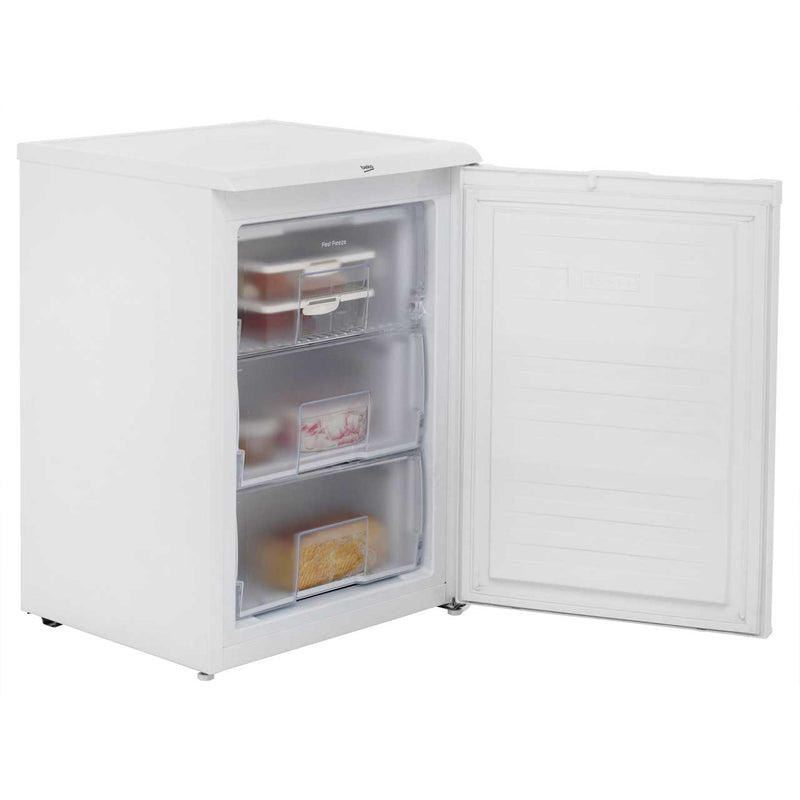 Beko UFF584APW Frost Free Under Counter Freezer - White - A+ Rated