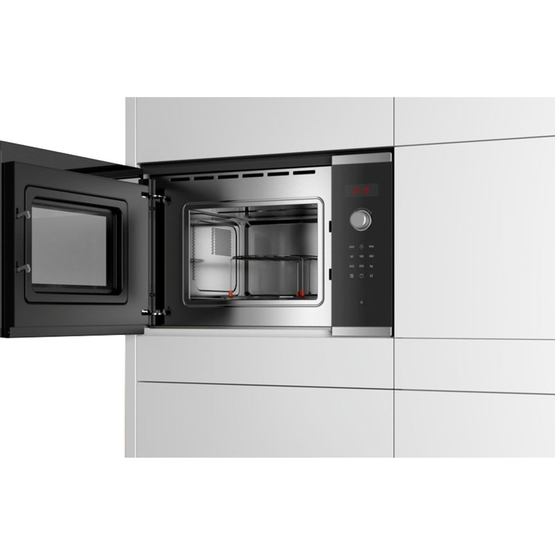 Bosch Serie 4 BEL523MS0B Built In Microwave With Grill - Stainless Steel