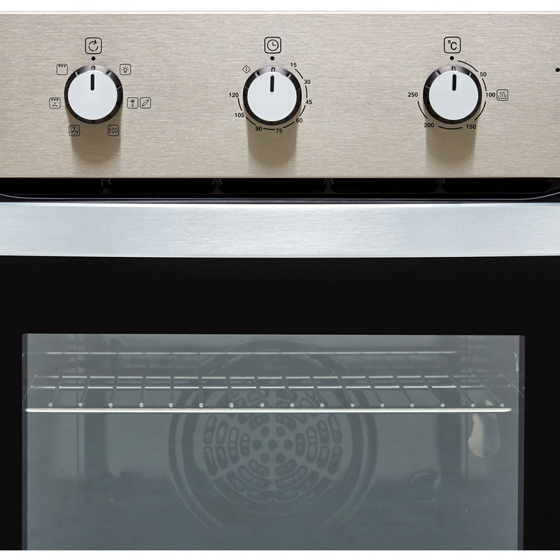 Belling BI602MM Built In Electric Single Oven - Stainless Steel - A Rated