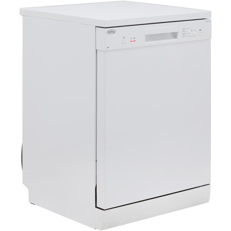 Belling Simplicity FDW120 Standard Dishwasher - White - A++ Rated