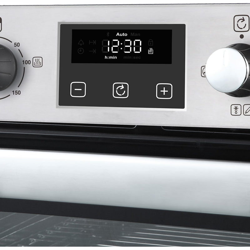 Belling BI702FPCT Built Under Double Oven - Black - A/A Rated