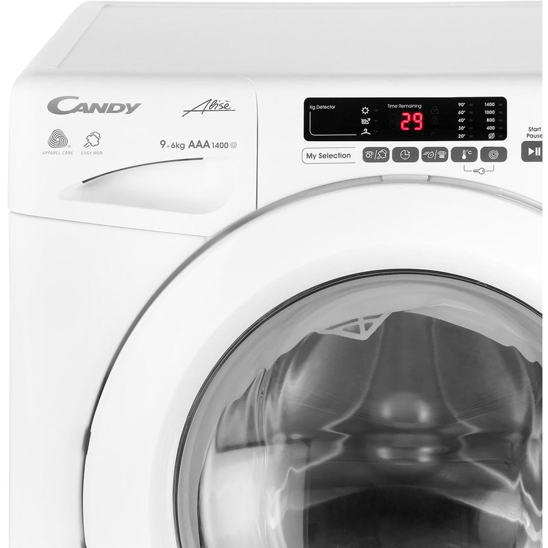 Candy Grand'O Vita GVSW496D 9Kg / 6Kg Washer Dryer with 1400 rpm - White - A Rated
