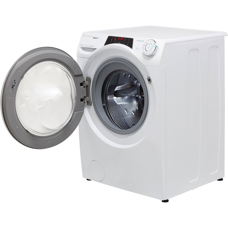 Candy Rapido RO14116DWHCB Wifi Connected 11Kg Washing Machine with 1400 rpm - Black - A+++ Rated