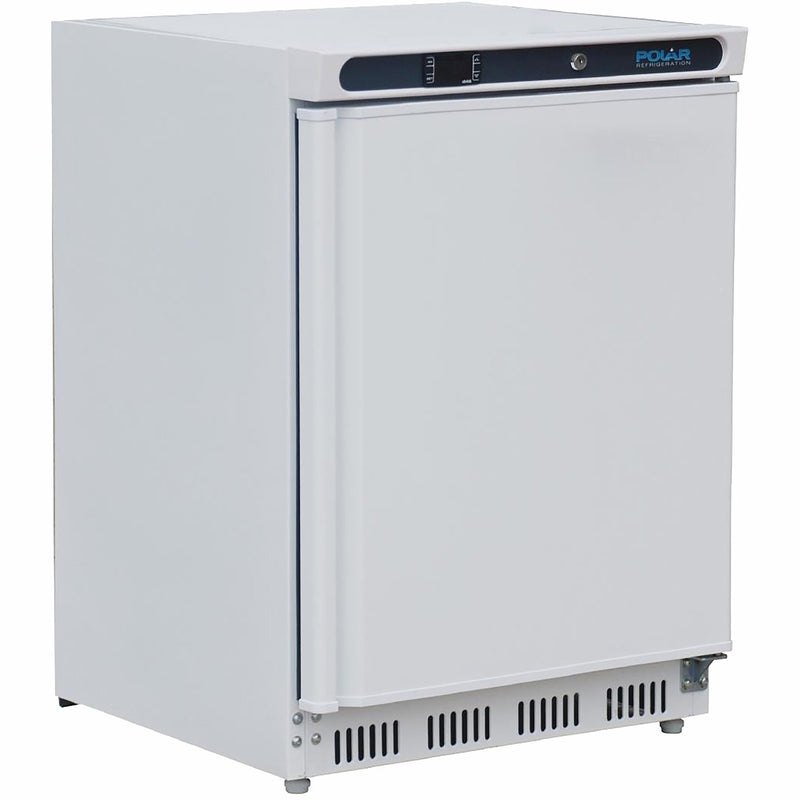 Polar CD610 Commercial Fridge - White - A Rated