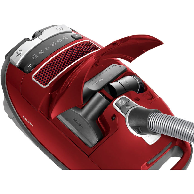 Miele Complete C3 Pure Red Cylinder Vacuum Cleaner - C Rated