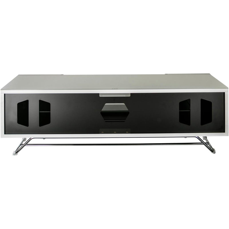 Alphason Chronium CRO2-1200CB-GRY 2 Shelf TV Stand - Grey