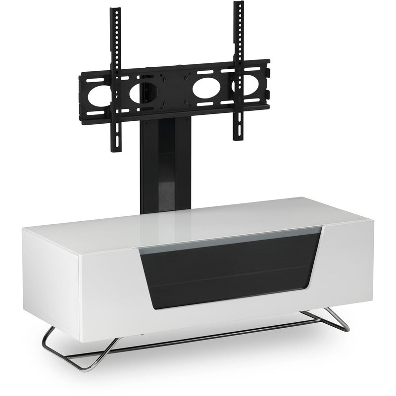 Alphason Chronium CRO2-1200CB-WHT 2 Shelf TV Stand - White