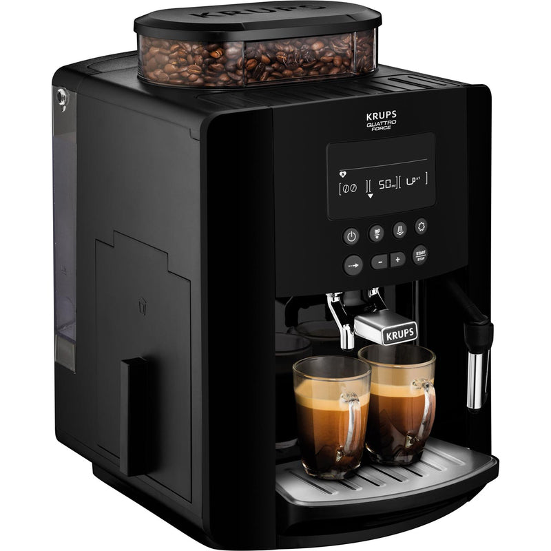 Krups Arabica Digital EA817040 Bean to Cup Coffee Machine - Black