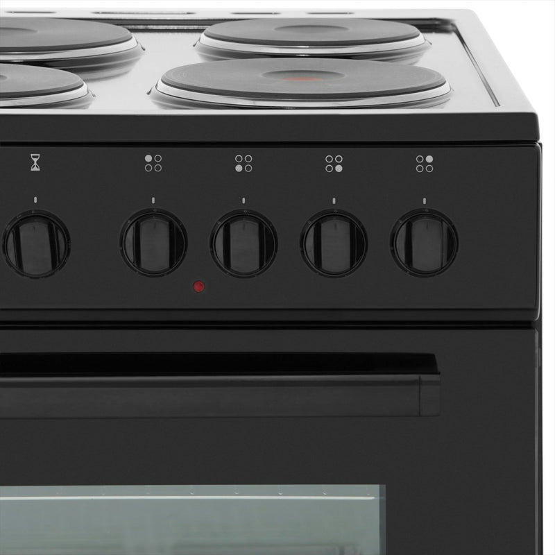 Electra SE50W 50cm Electric Cooker with Solid Plate Hob - White - A Rated