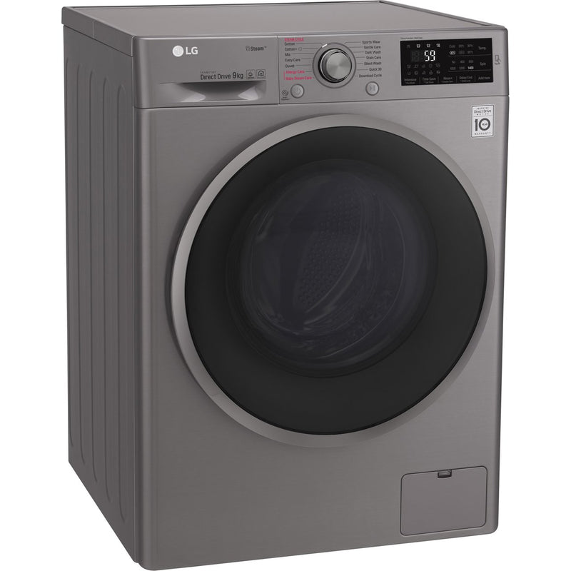 LG J6 F4J609SS 9Kg Washing Machine with 1400 rpm - Graphite - A+++ Rated