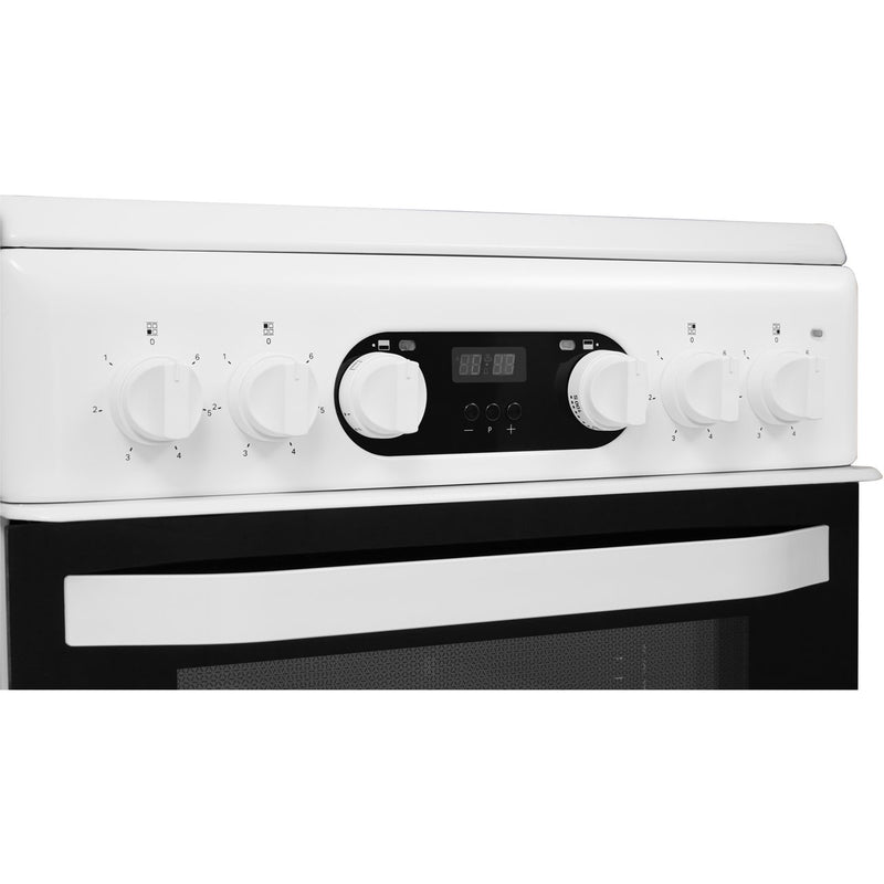 Hotpoint Cloe HD5V93CCW 50cm Electric Cooker with Ceramic Hob - White - A Rated