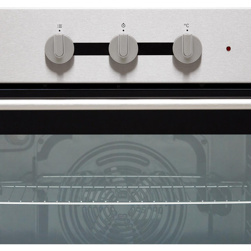 Hisense BI6031CXUK Built In Electric Single Oven and Ceramic Hob Pack - Stainless Steel / Black - A Rated