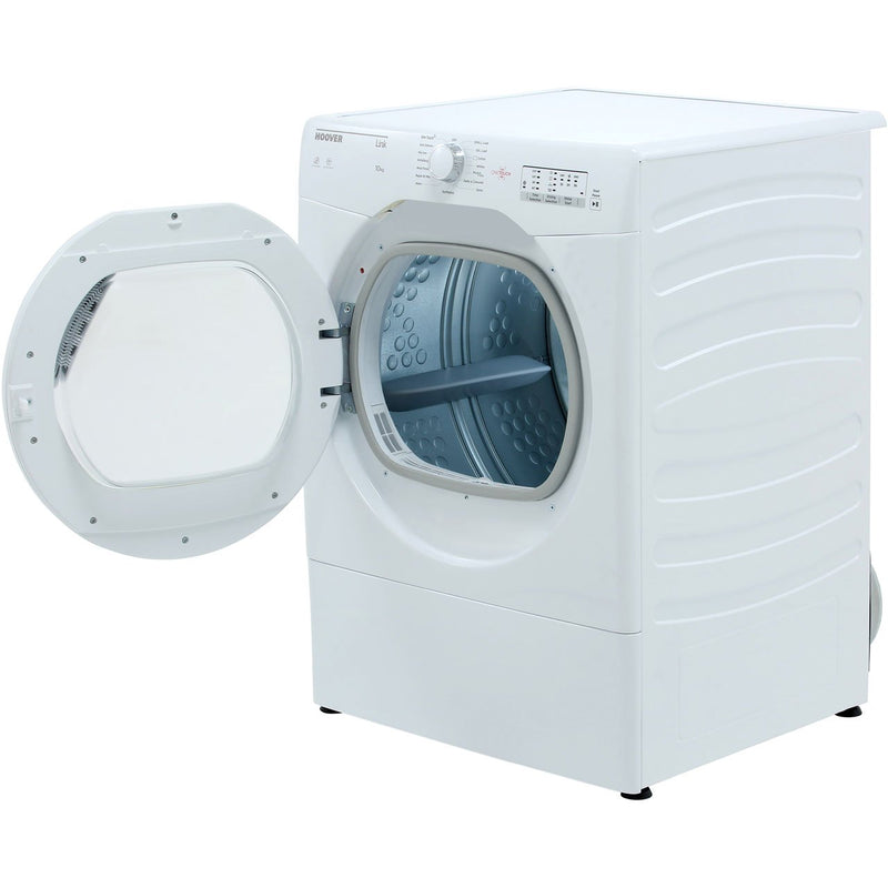 Hoover Link HLV10LG 10Kg Vented Tumble Dryer - White - C Rated