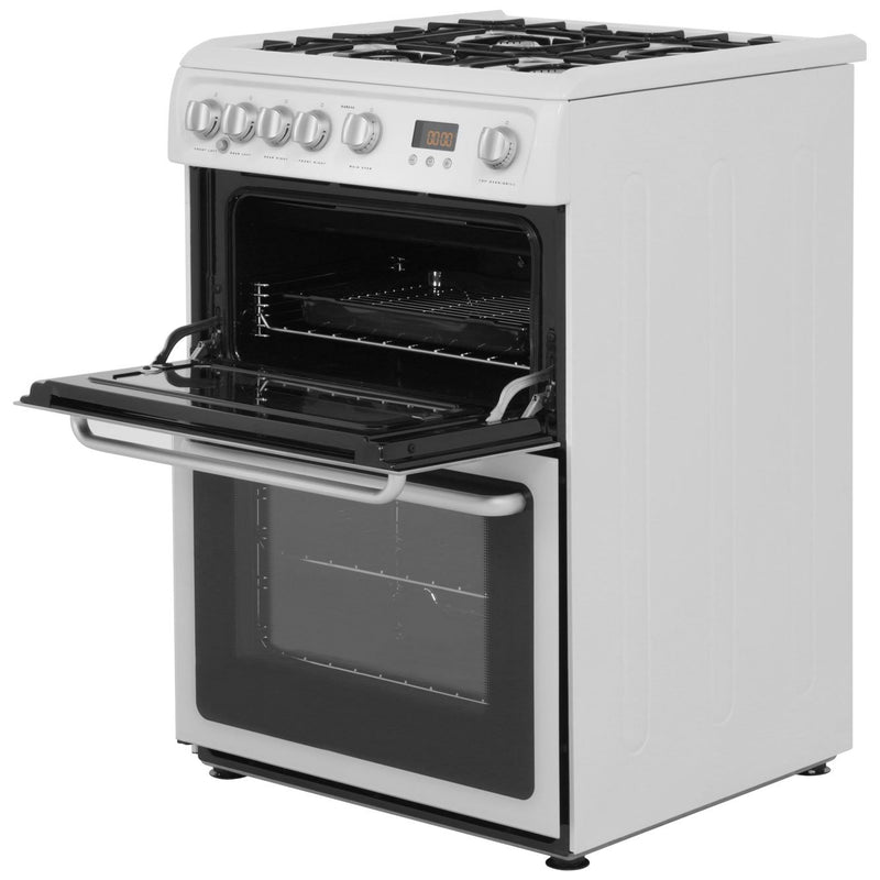Hotpoint Newstyle HARG60K 60cm Gas Cooker with Variable Gas Grill - Black - A+/A Rated